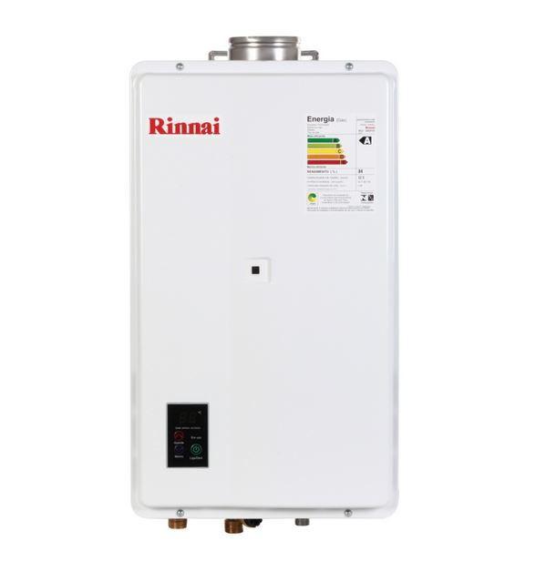 Aquecedor a Gás REU-2402 FEH - 32,5 litros - Rinnai