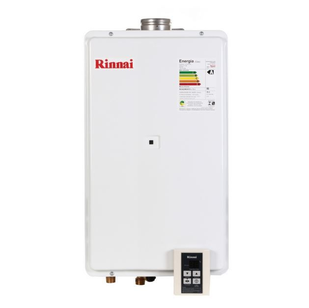Aquecedor a Gás REU-2802 FEC - 35,5 litros - Rinnai