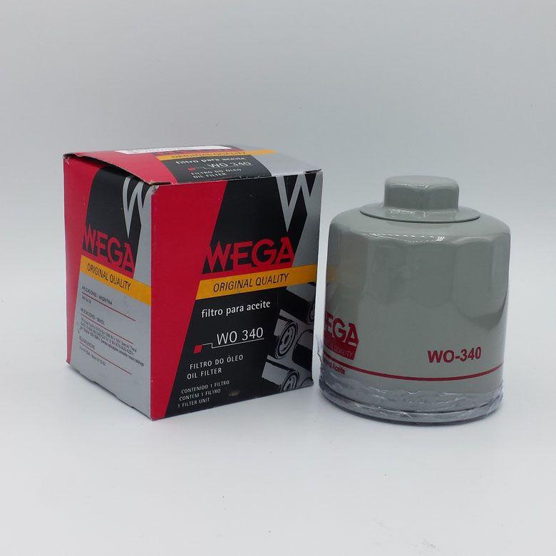 Filtro de Óleo - VW GOL FOX VOYAGE KOMBI Audi A3... - WO340 WEGA