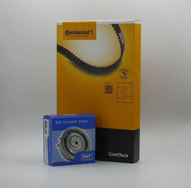 Kit Correia e Rolamento Tensor para carros GM Chevrolet - CT874 VKM15402 CONTITECH e SKF