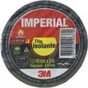 10 Fita Isolante 3m Imperial 18 x 10 Metros
