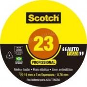10 Fita Isolante De Autofusão 19mmx2m 23 Preta 3m Scotch 3m