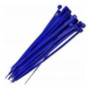 Abraçadeira Nylon Azul 100 Unidades 2,5 X 200 mm