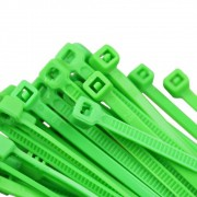 Abraçadeira Nylon Verde 100 Unidades 2,5 X 100 mm