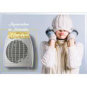 Aquecedor de Ar e Ambientes Elétrico Mondial TermoVentilador