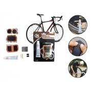 Kit De Reparos Para Pneu De Bicicleta C/ 8 Peças