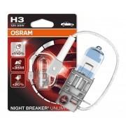 Lampada H3 Farol de Milha 110% Osram Night Breaker Unlimited