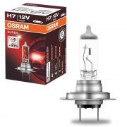 Lâmpada Halógena H7 3200K  55W 12V Osram Farol 30% + LUZ  OS