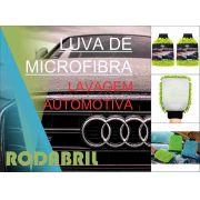 Luva De Microfibra RodaBril Lavagem Automotiva
