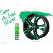 Tinta Spray Colorart Uso Geral Verde Raw