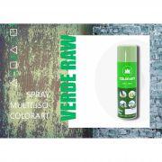 Tinta Spray Colorart Uso Geral Verde Raw