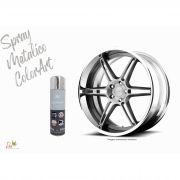 Tinta Spray Cores Metálicas Colorart Cromado