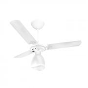 Ventilador de teto 3 pás laqueadas branco - 220v - NEW DELTA