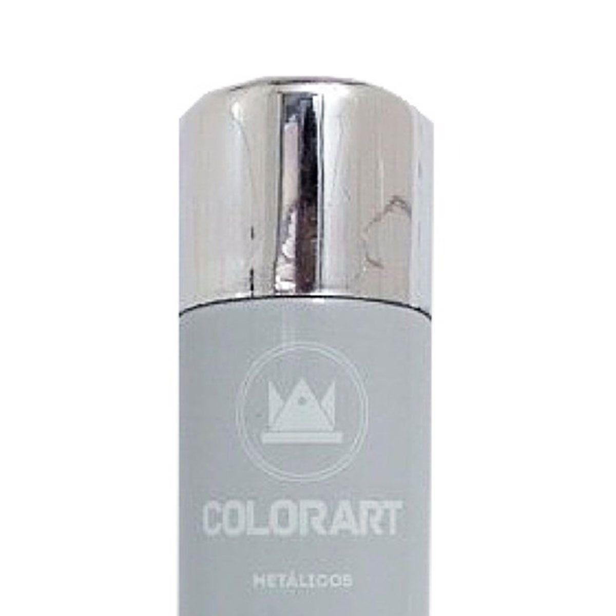 3 Tintas Spray Cores Metálicas Colorart Cromado  - Rea Comércio - Sua Loja Completa!