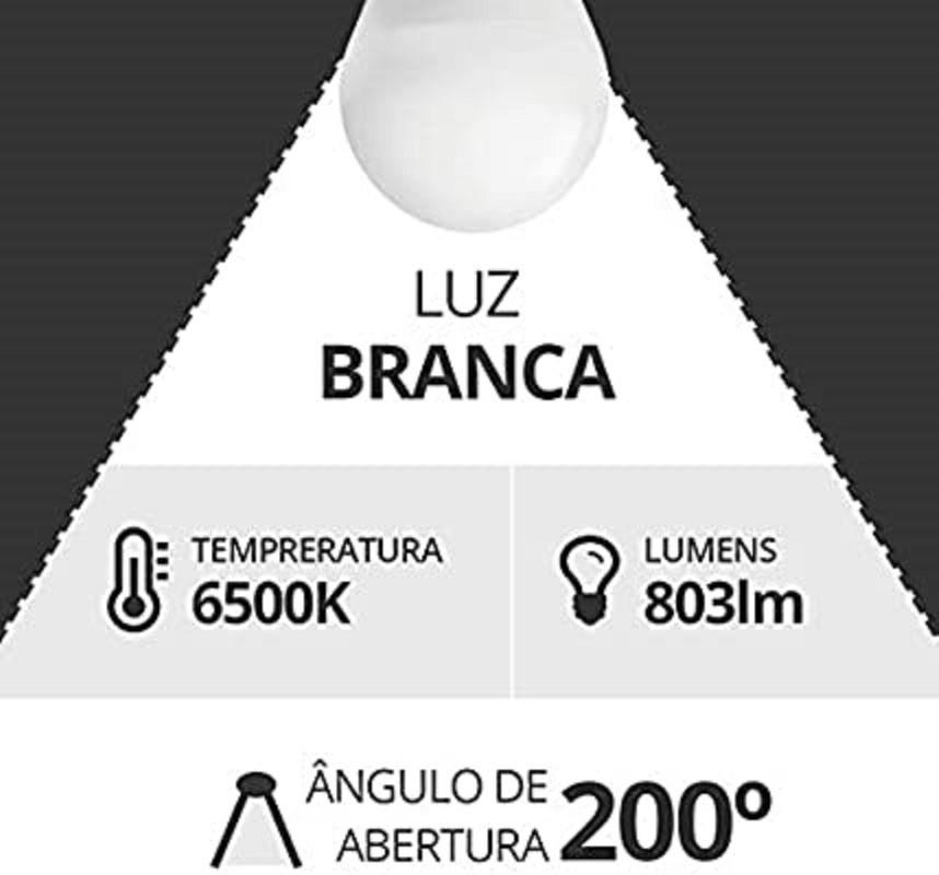 5 Lampadas Econômica De Led Bulbo 9w Soquete E27 Bivolt A60  - Rea Comércio - Sua Loja Completa!