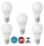 5 Lampadas Econômica De Led Bulbo 9w Soquete E27 Bivolt A60