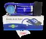 Bomba de Ar Manual de para Encher Pneu Carro Moto Bicicleta Bola Inflável Brasfort 8406