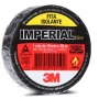 Fita Isolante Fios Cabos 3m Imperial 18mm X 20mts Preta