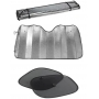 Kit Protetor Para-brisas Protetor Solar Lateral Carro