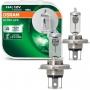 Lampada Farol Osram H4 Ultra Life 60/55w 12v 3200k 60% + Luz