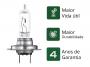 Lampada Farol Carro Osram H7 Ultra Life 60/55w 12v 3200k 60% + Luz