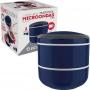 Marmita Lunch Box Pote Microondas Dupla 1,4l Euro Home