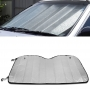 Protetor Solar Automotivo Para-brisa Universal Prata Metalizado