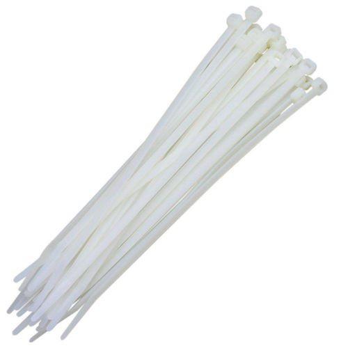 Abraçadeira Nylon Branca 100 Unidades 3,6 X 200 mm  - Rea Comércio - Sua Loja Completa!