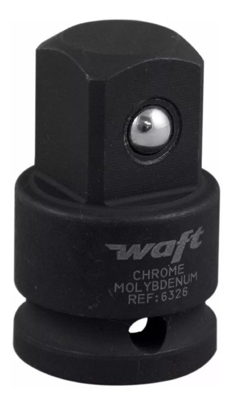 Adaptador Para Soquete Redução De Impacto 1/2F X 3/4M Waft 6326  - Rea Comércio - Sua Loja Completa!