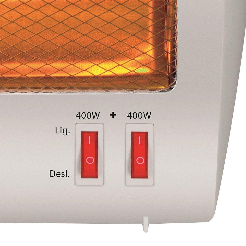 Aquecedor De Ambientes Elétrico Mondial Halogeno  800w  A09 220v  - Rea Comércio - Sua Loja Completa!
