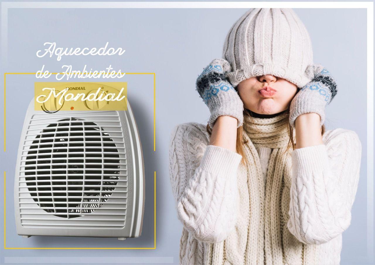 Aquecedor de Ar e Ambientes Elétrico Mondial TermoVentilador  - Rea Comércio - Sua Loja Completa!