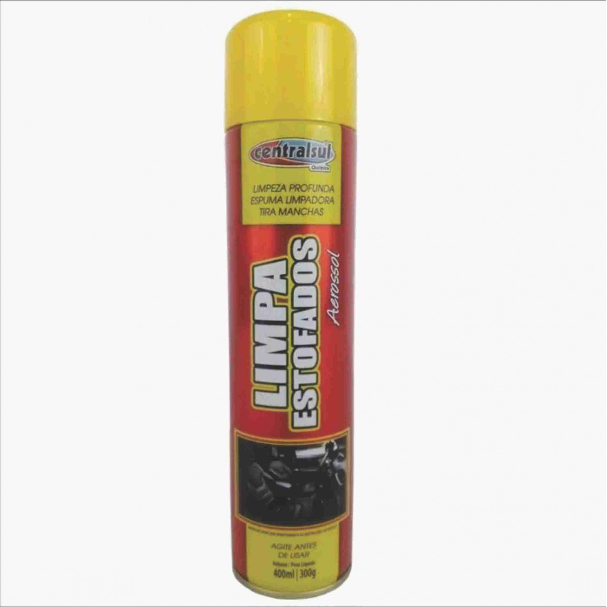 Aromatizante Hot Rod Speed + Limpa Estofados Central Sul  - Rea Comércio - Sua Loja Completa!