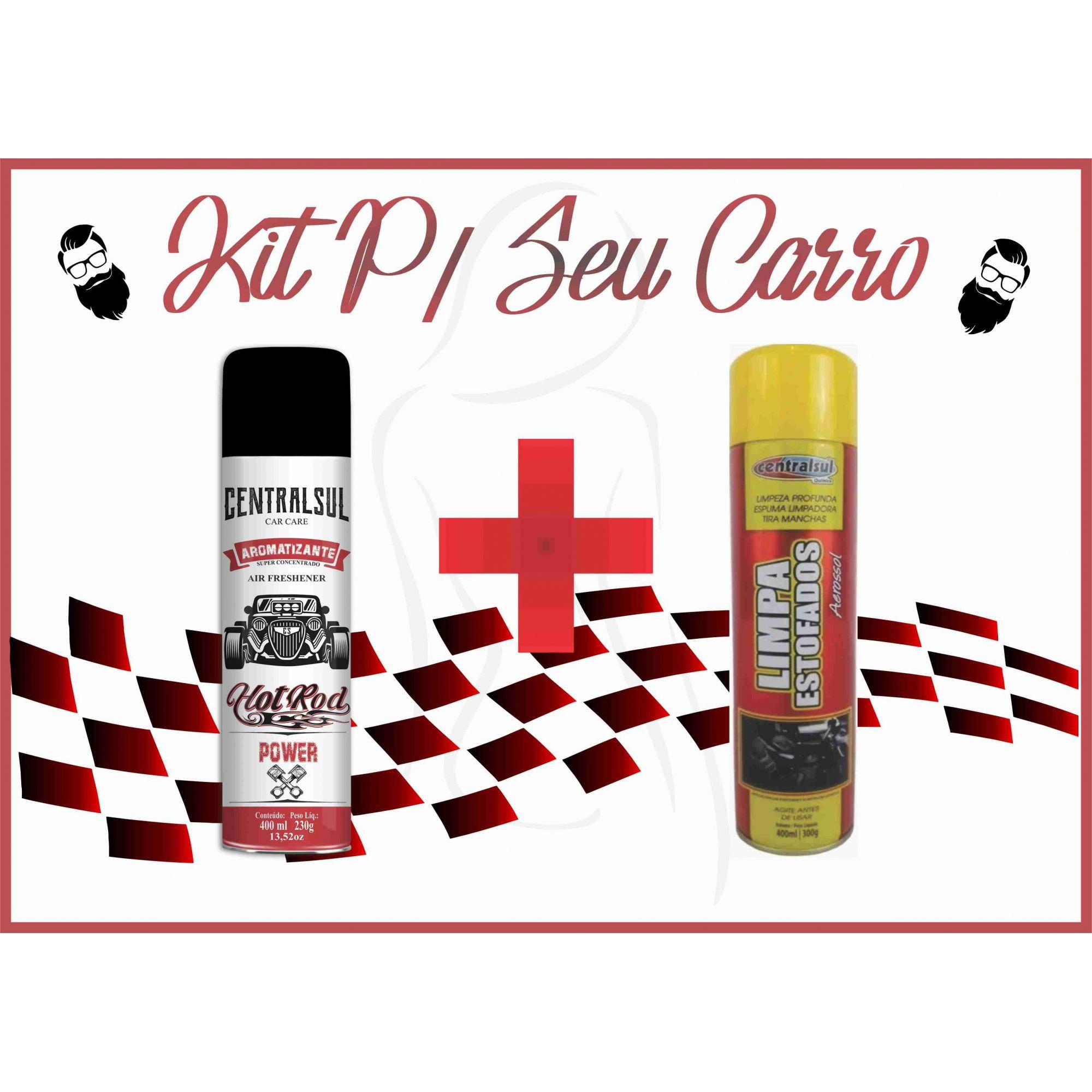 Aromatizante Super Concentrado + Limpa Estofados