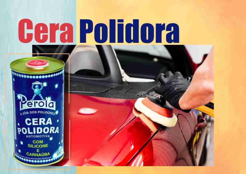 Cera Líquida Polidora com Silicone e Carnaúba Pérola 500g  - Rea Comércio - Sua Loja Completa!