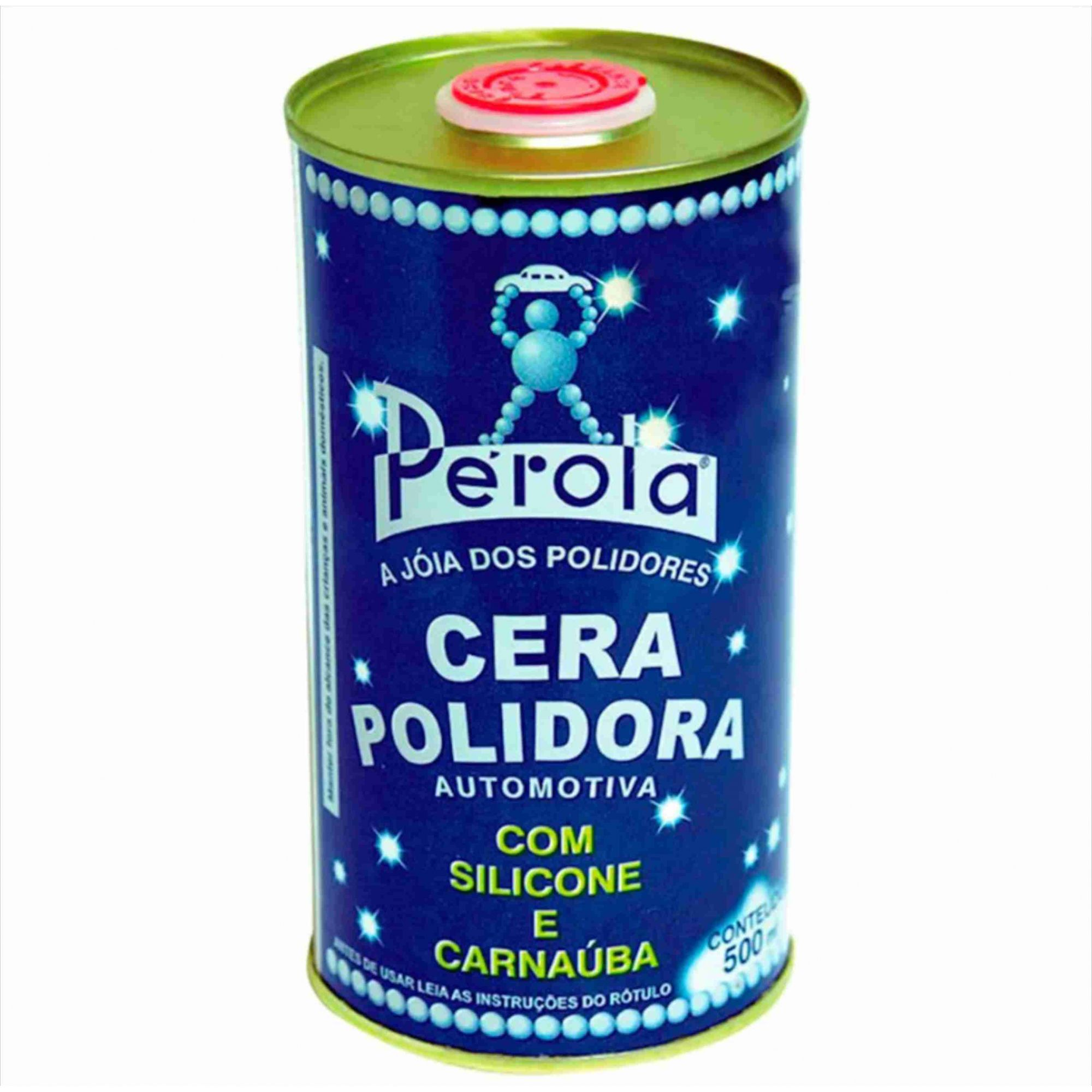 CERA POLIDORA + LUVA DE MICROFIBRA  - Rea Comércio - Sua Loja Completa!