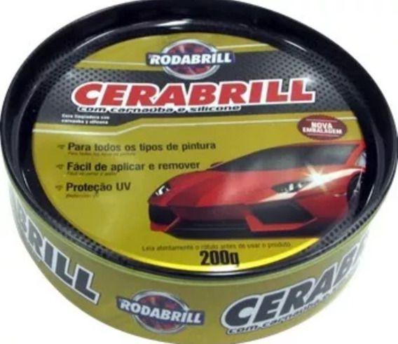 Cera Tradicional com Carnaúba e Silicone para Polimento Carro Moto Caminhão Braco Lanchas  - Rea Comércio - Sua Loja Completa!