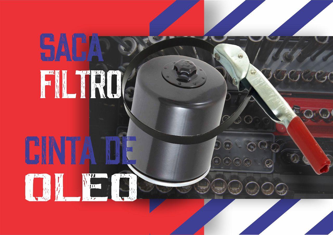 Chave Saca Filtro Cinta De Óleo 61 x 72mm LUB 18-F  - Rea Comércio - Sua Loja Completa!