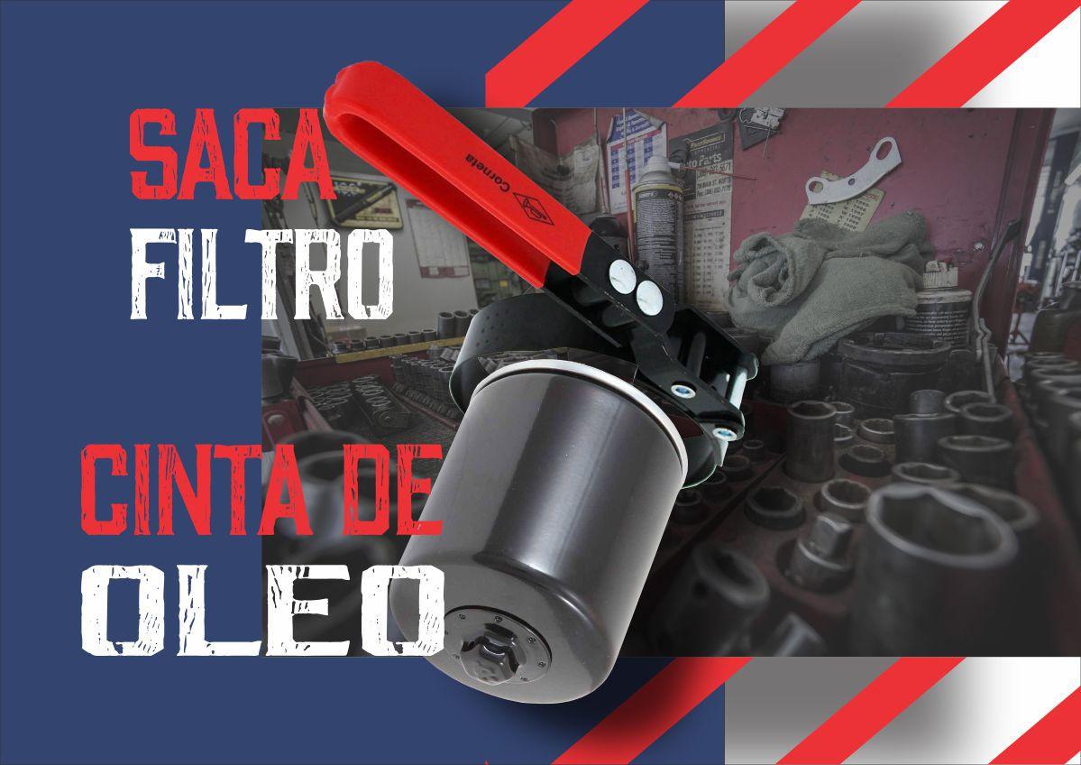 Chave Saca Filtro Cinta De Óleo 80 x 95mm Corneta Nº3  - Rea Comércio - Sua Loja Completa!