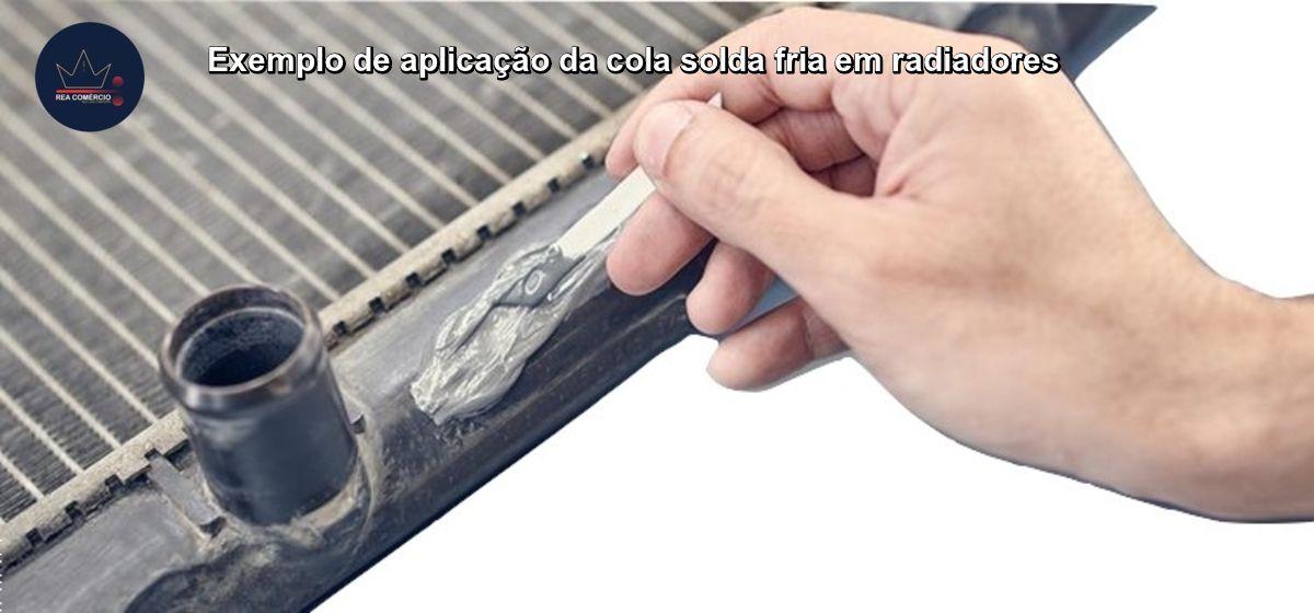 Cola Adesivo Epoxi Titânium Solda Fria,carter,ferro,alumínio  - Rea Comércio - Sua Loja Completa!