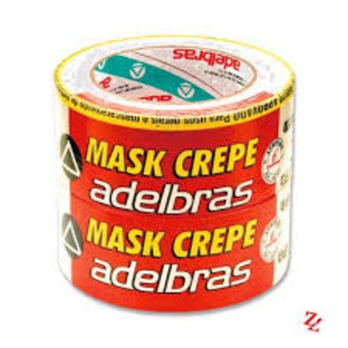 FITA CREPE ADELBRAS/MASK 18MM X 50M