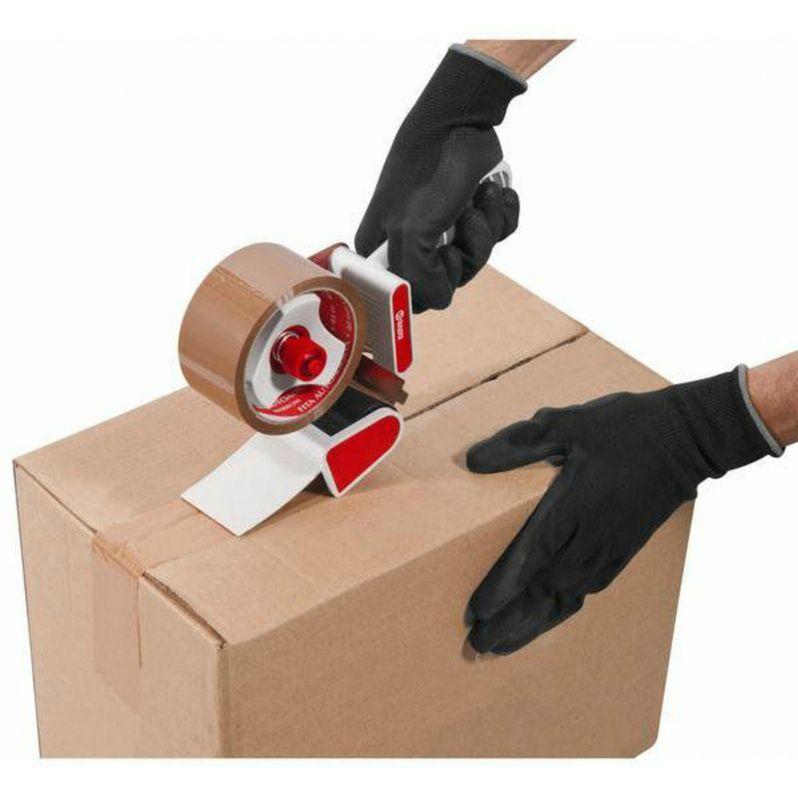 Fita Embalagem, Caixa de Papelão, Plásticos, Papelaria, Escritório Marrom Adelbras Rolo De 4,8cm X 45 Metros  - Rea Comércio - Sua Loja Completa!
