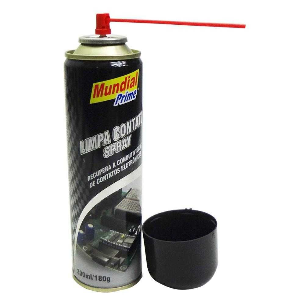Kit Limpa Contato Elétrico 12 Unidades Mundial Prime Spray 300ml  - Rea Comércio - Sua Loja Completa!