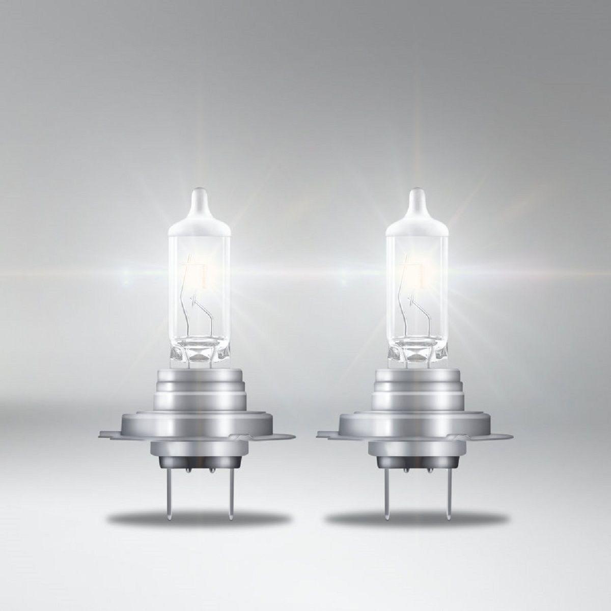 Lampada Farol  Carro Osram Night Breaker Silver H7 100% + Luz 3.200k  - Rea Comércio - Sua Loja Completa!