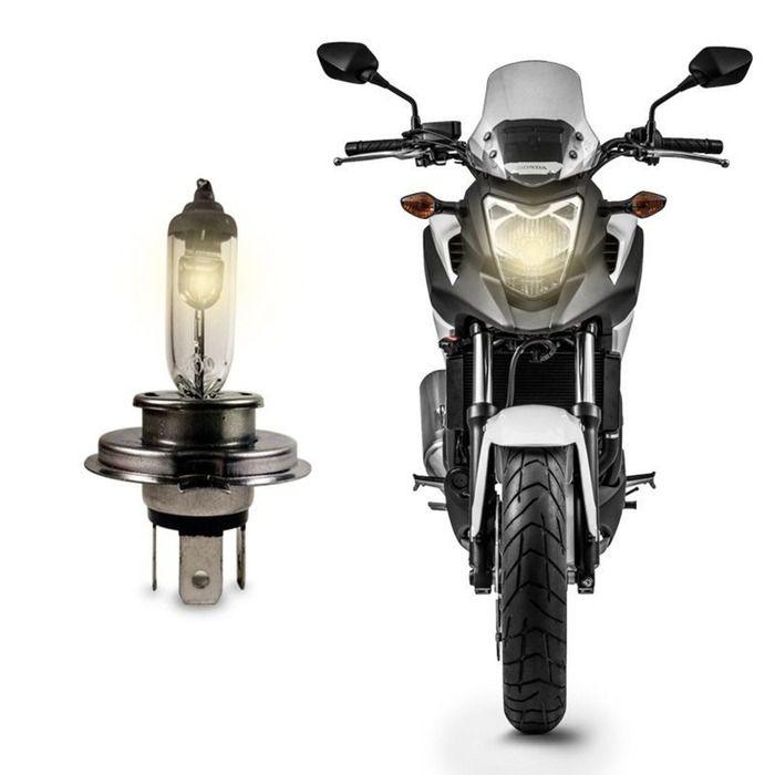 Lampada Farol para Moto Osram H4 12v/35w - Original  - Rea Comércio - Sua Loja Completa!