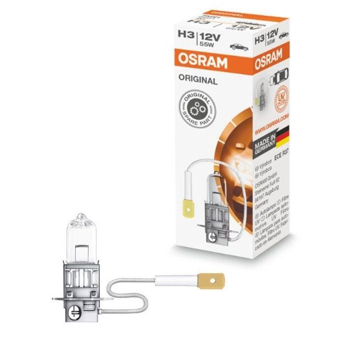 Lampada Osram H3 Par Farol de Milha e Auxiliar 55W/12V