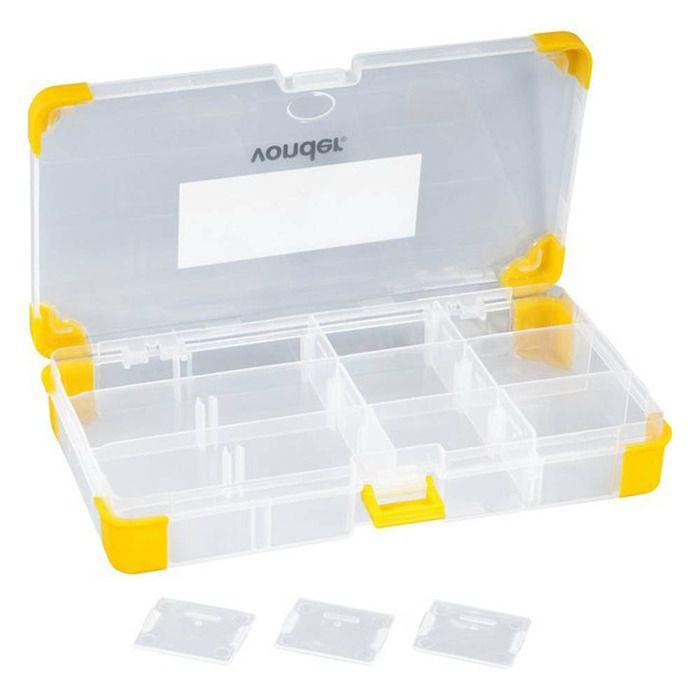 Organizador Plástico com 12 Divisórias OPV 060 - Vonder  - Rea Comércio - Sua Loja Completa!