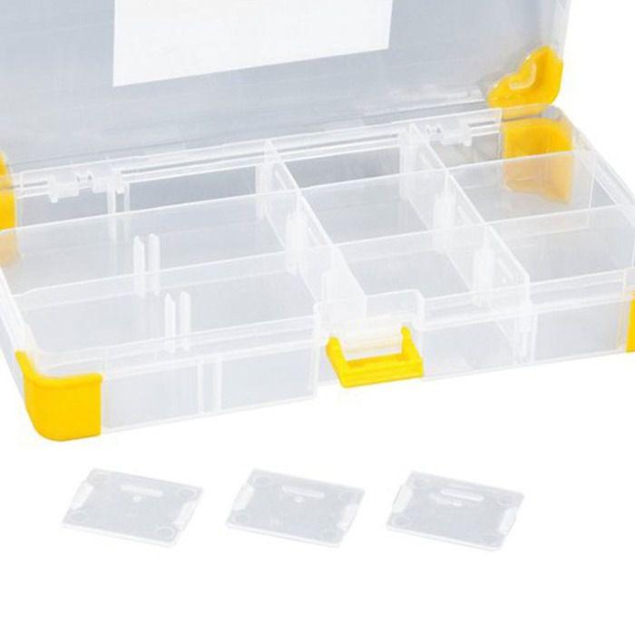 Organizador Plástico com 12 Divisórias OPV 070 - Vonder  - Rea Comércio - Sua Loja Completa!