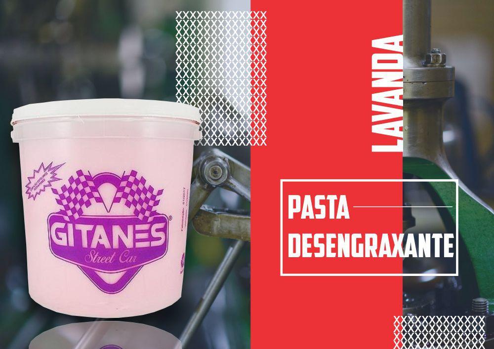 Pasta Desengraxante Gel Floral Lavanda Gitanes 2,8Kg  - Rea Comércio - Sua Loja Completa!