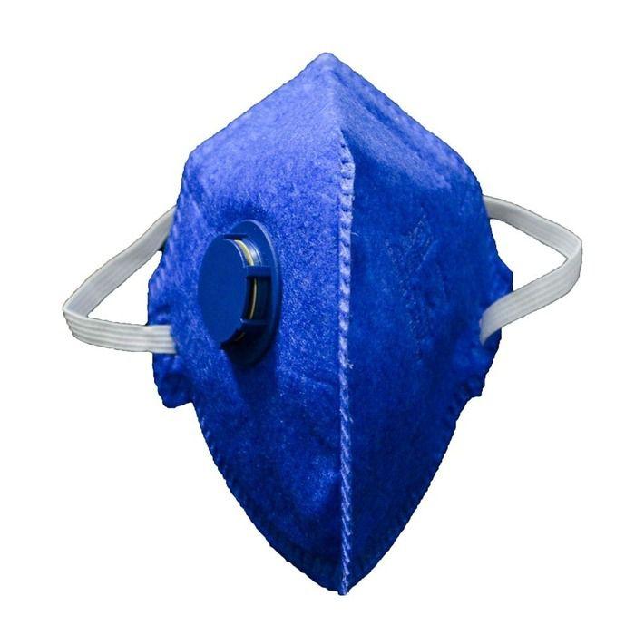 Respirador P-2 Com Válvula Pff2 Ca 38.509 Delta Plus