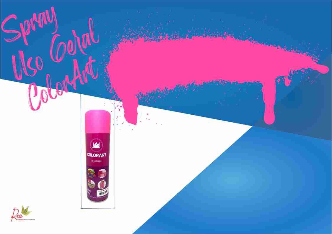 Tinta Spray Colorart  Maravilha Luminoso